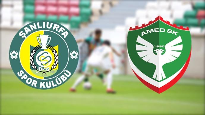 Şanlıurfaspor- Amedspor maçı canlı yayınlanacak mı?
