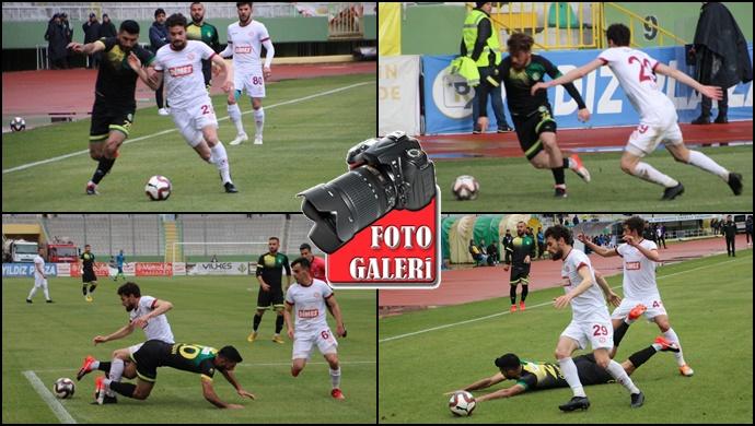 Şanlıurfaspor - Tokatspor: 1-2