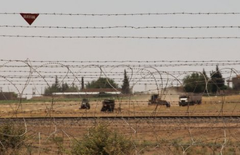 Şanlıurfa'ya gelmeye çalışan 5 PKK'lı Kilis'te yakalandı