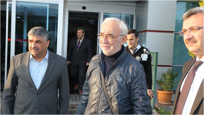 Şener Şen Malatya'da