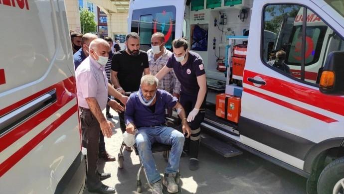 Siirt'te kaza: 7 yaralı