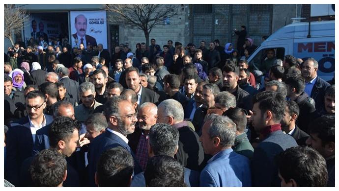 Sinan Yavuz'un Seçim Bürosu Miting Havasında Geçti