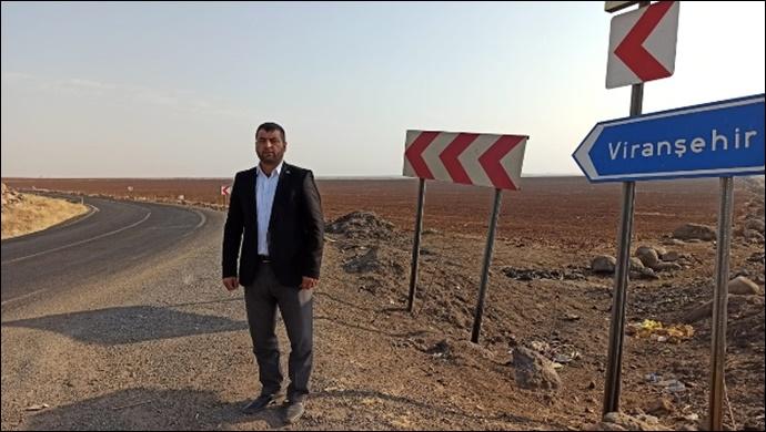 Siverek-Viranşehir yolu ölüm yoluna dönüşmesin