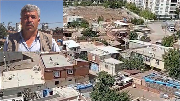 Siverek'te Mahalle muhtarından kentsel dönüşüm tepkisi