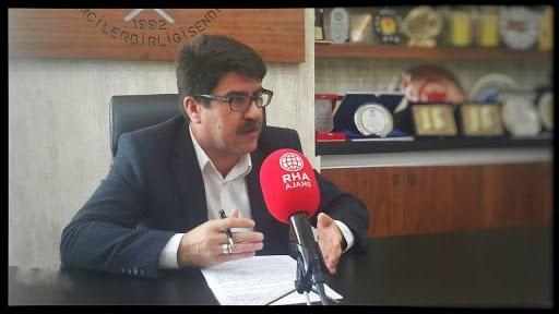Siverek'teki olaya bir tepki de Eğitim Bir-Sen Şube Başkanı İbrahim Coşkun'dan!