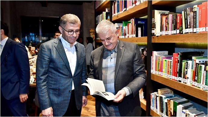 TBMM Başkanı Binali Yıldırım Üsküdar Nevmekan Sahil'i Ziyaret Etti