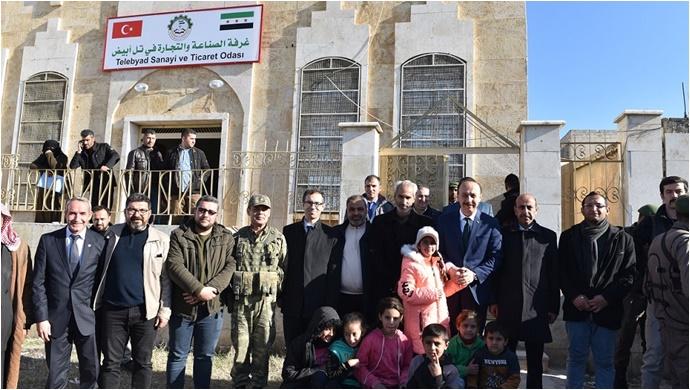 Tel Abyad Ticaret ve Sanayi Odası Faaliyetlerine Başladı-(Video)