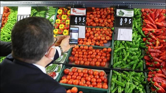 Ticaret Bakanlığı'ndan Temel İhtiyaç Ürünlerine Yönelik Fahiş Fiyat Denetimleri