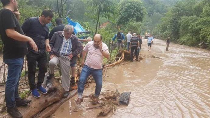 Trabzon'da sel felaketi: 6 kişi öldü, 4 kişi aranıyor