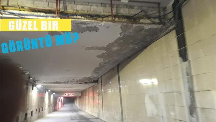 Tünel değil ölüm geçidi!