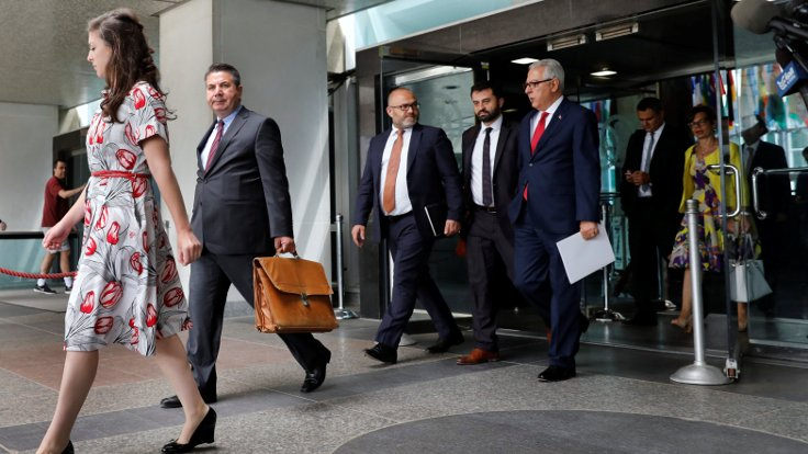 Türk heyeti, ABD'li yetkililerle görüştü