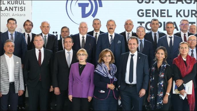Türkçimento 63. genel kurulu Ankara'da yapıldı