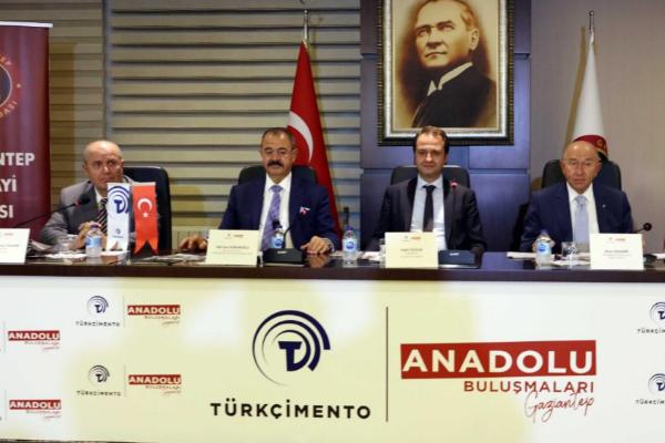 Türkçimento Anadolu Buluşmaları'nın beşincisi Gaziantep'te yapıldı