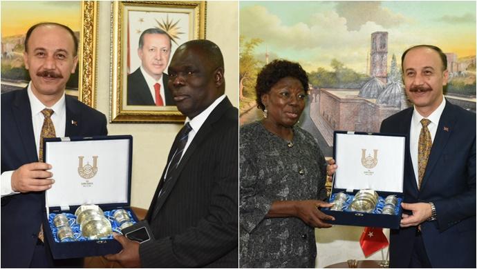 Uganda Heyeti Şanlıurfa'da