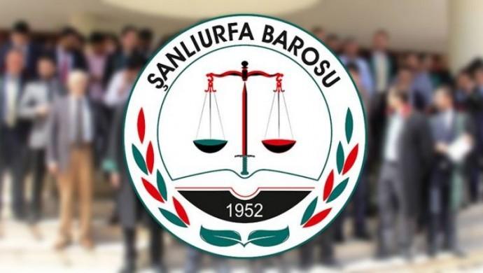 Urfa Barosu başkanı ve avukatlar hakkında takipsizlik