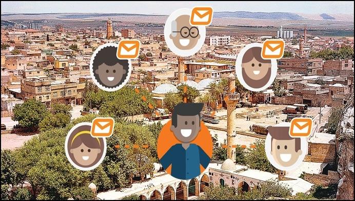 Urfa, Bayramda En Çok SMS Gönderen Üçüncü İl Oldu