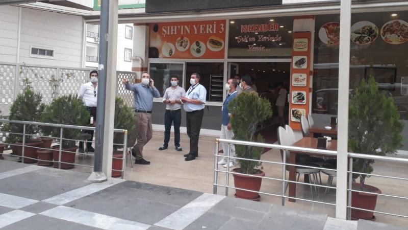 Urfa'da, 8 işyeri ve 109 kişiye idari işlem uygulandı