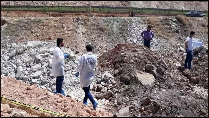 Urfa'da Hafriyat alanında toprağa gömülü çocuk cesedi bulundu