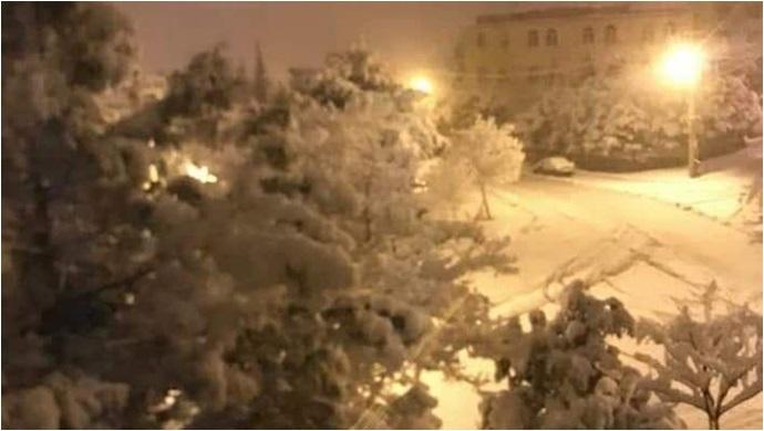 Urfa'da Kar Yağışı Etkili Oluyor