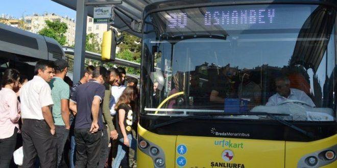 Urfa'da şehir içi otobüsler normalleşmede nasıl hizmet verecek?