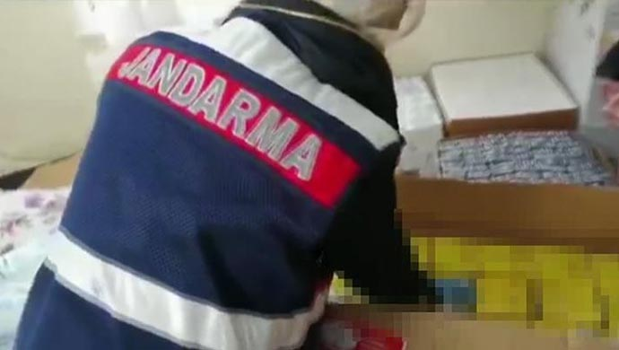 Urfa'da serada yakalandı: Tam tamına 1188 kök