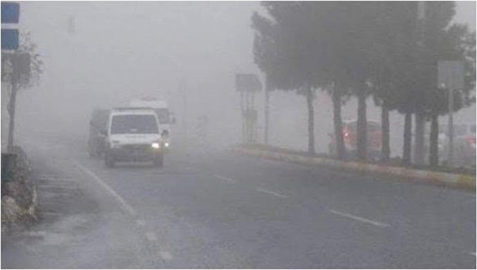 Urfa'da Yoğun Sis Etkili Oluyor