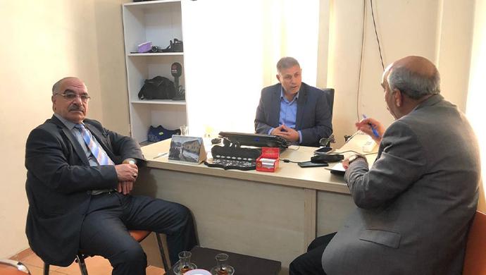 Şanlıurfa'daki muhalefet partilerinden RHA Ajans'a ziyaret