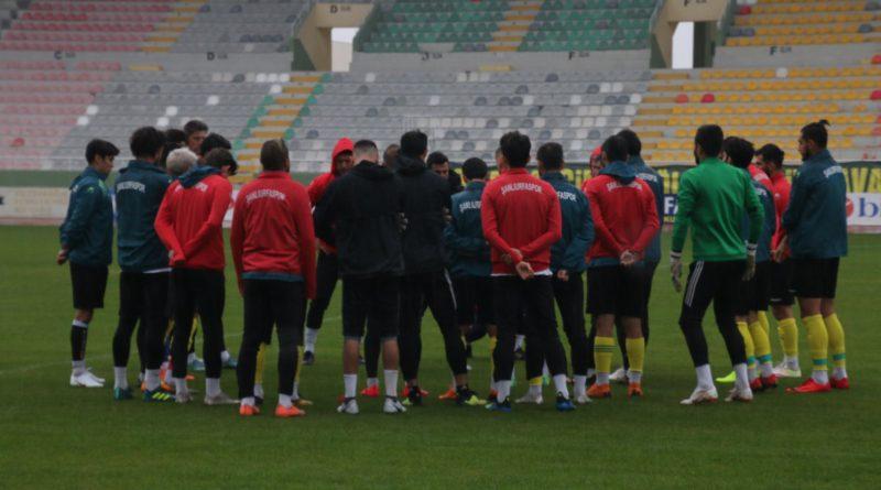 Urfaspor, Tokatspor maçının hazırlıklarını sürdürüyor
