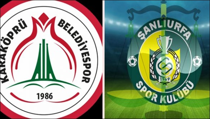 Urfaspor ve Karaköprü Belediyespor'un maç programları belli oldu