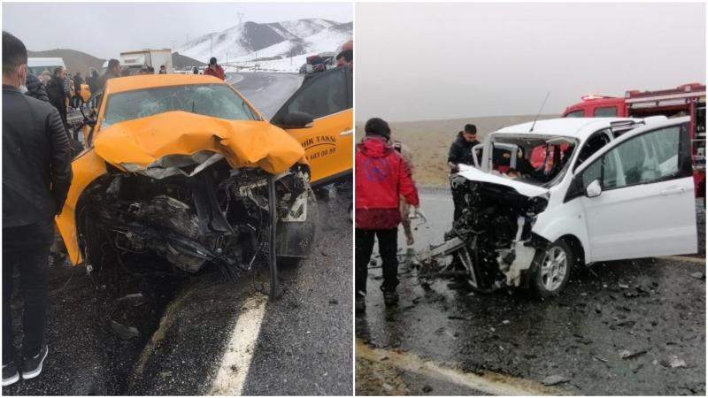 Van'da trafik kazası: 3 ölü 7 yaralı