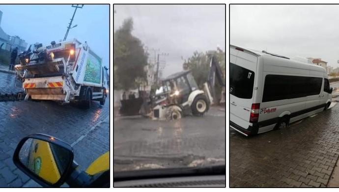 Viranşehir'de 2 aylık cadde araçların korkulu rüyası oldu