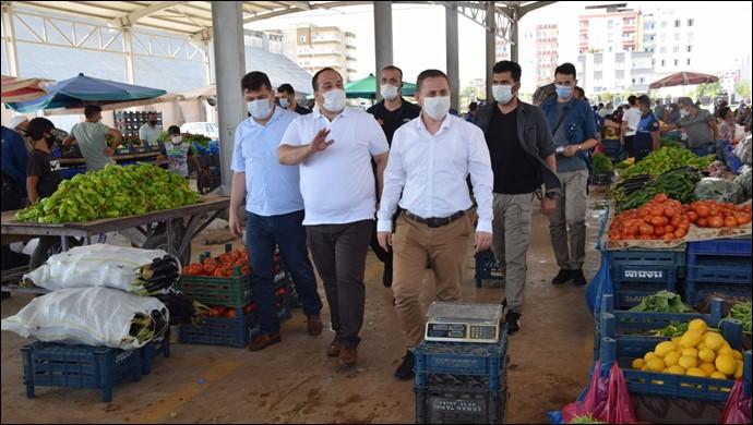 Viranşehir'de Koronavirüs' Denetimi
