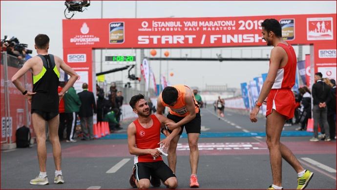 Vodafone 14. İstanbul yarı maratonu'nda Parkur rekoru kırıldı!