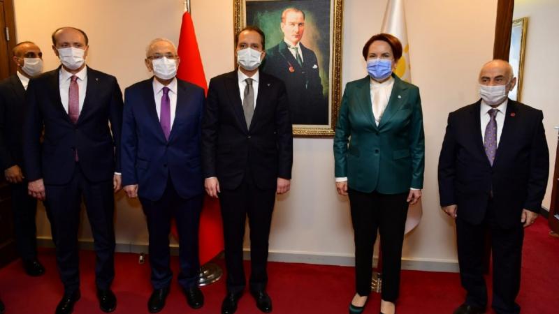 Yeniden Refah lideri Fatih Erbakan'dan Meral Akşener'e ziyaret