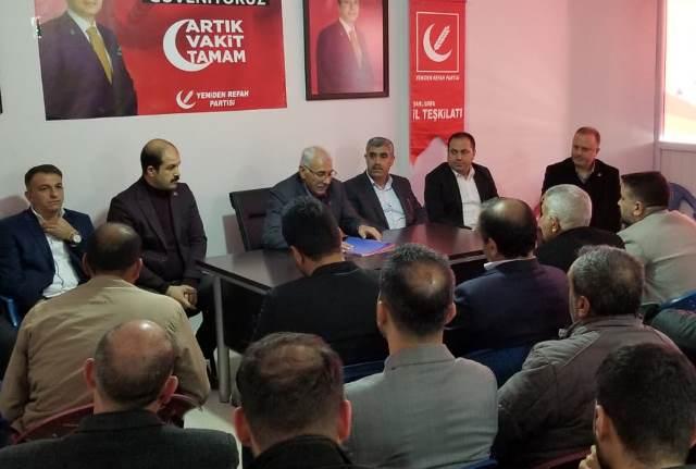 Yeniden Refah Partisi'nden teşkilatlanma çalışmaları