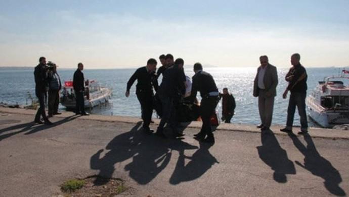 Yenikapı Sahili'nde kadın cenazesi bulundu