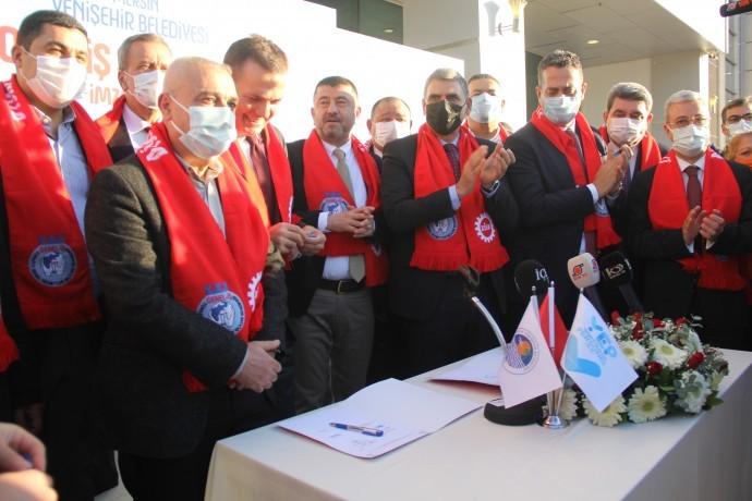 Yenişehir Belediyesi asgari ücreti 3 bin 883 TL yaptı