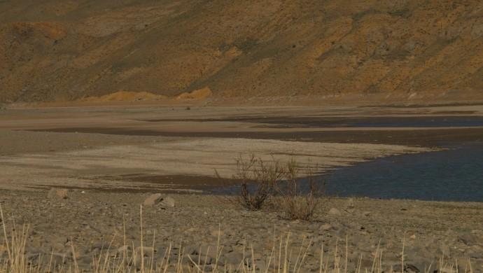 Zernek Barajı kuruma tehlikesiyle karşı karşıya