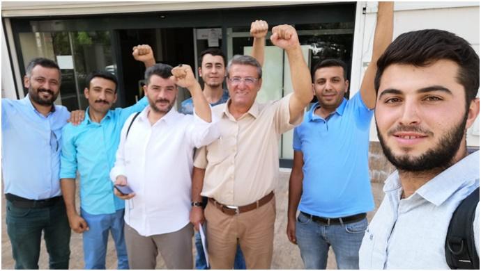 Şanlıurfa Tüvtürk Polçak Taşıt Muayene İstasyonunda Direnen İşçiler Kazandı